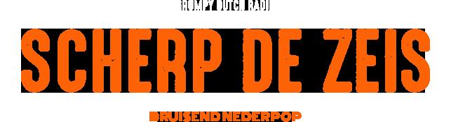 De show waar het allemaal mee begon: Scherp de Zeis. Op de dinsdagavond vertelt Hylke Steggerda van 20.00 tot 22.00 uur je alles over de wereld van de Nederpop. <br> Bruisend Nederpop!